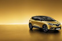 New Renault SCENIC / The new SCENIC establishes a fresh approach to the MPV. It sits on large 20-inch wheels and its nicely-balanced lines make it especially pleasing to the eye, thanks to a lower roof line, longer wheelbase and shorter rear overhang compared with those of its predecessor.