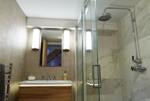 Bath Showpiece by Latham Interiors / We have taken this interesting double height space to showcase a contemporary side to our capabilities. This property is able to be viewed by prospective clients and is a great opportunity for us to showcase the quality and finer detailing of the interior schemes designed at Latham Interiors.