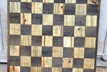 Chess Boards, handmade
