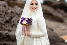 Modest Hijab Wedding Dress