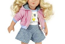 Käthe Kruse Playdolls / Käthe Kruse Playdolls are made and designed to become a real friend for children.
