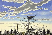 Neil Welliver / by Dick Aunspaugh