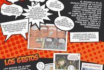 Tebeos con clase / TEBEOS CON CLASE somos un grupo de profesores que pretendemos fomentar el uso del cómic en el aula con la intención de crear lectores competentes