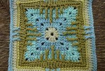 crochet - granny sq. / by Colleen Heath