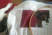 My work in progress cross stitch