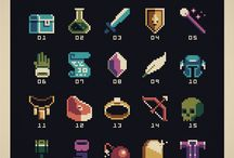 Pixel-art / Items
