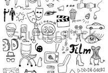 Doodle, borders для ежедневника