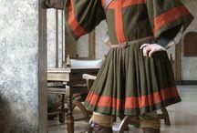 Ubrania męskie XVI wiek