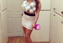 Bubble bath costume  / Diy Halloween costume  / by Jenn Montero