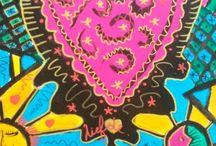 Manojero kunst / Mijn werk