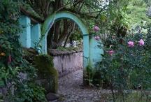 comfort me. garden spaces. / garden & patio design / by Travetta Johnson