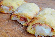 cannoli di patate con prosciutto e mozzarella sfiziosi