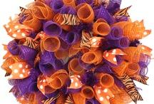 Mesh Wreaths / by Faith Barbour