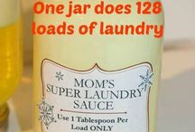 Moms super laundry sauce