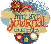 Art ✤ Journals, Gratitude Books, and Altered Books