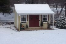 Moms shed / Storage shed / by Vickie Eckman