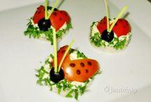 Ozdoby z ovocia a zeleniny