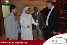 Monthly CME program at UHS / As part of its monthly CME program, UHS organized a CME last Friday to promote continuous learning among the industry professionals.
