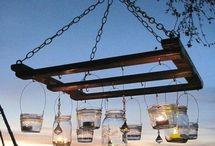 Nana's Ideas.... / Pallet lanterns for the deck.....
