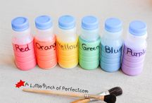 Ideas for kiddie crafts