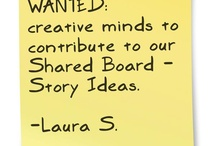 Shared Board - Story Ideas / Like all writers, I'm always looking for great stories.  My goal with this board is to create an idea sharing forum.  Feel free to pin images or ideas that spark your curiosity.  Pin spam and I'll give you the boot!  Thanks!  Laura S.