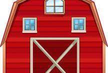 clipart farm
