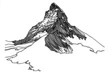 Mountains / Drawings by Petra Ruzickova