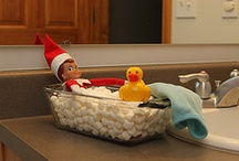 Elf on a shelf for Harley / by Courtney Griffith