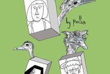 Comics / by Pollux (Paul Morris)