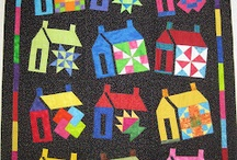 Huisjes quilts