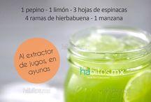 zumos vegetales