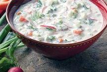 Холодные супы ,окрошки