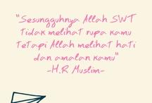Al-Quran & Hadist Words