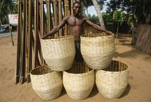 Decor Baskets - Contemporary & Vintage / African and Asian