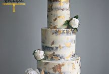 Buttercream and Naked Wedding Cakes