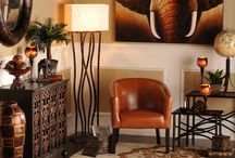Decorational ideas africa inspired