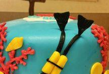 scuba diving cakes