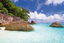 Strände | Best of / Hier findet ihr die schönsten Strände der Welt: türkisfarbenes Wasser, weiße Sandstrände...