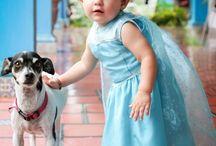 Princesas y Príncipes / Sesión de fotos de nenas y nenes muy guapos.