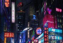 sci-fi / cyberpunk