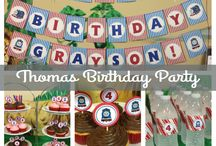 Grayson's Thomas and Friends 4th Birthday Party