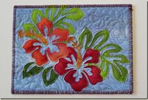 Quilted Postcards, Greeting Cards, ATCs