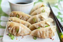 dumplings // vegetarian