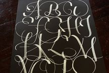 Typography / one day i will be able to write just like this...
