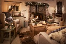 The cottage / Flooring, curtains, interiors