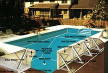 Pool Construction / Pictures of swimming pool construction in progress. / by Pool Pricer