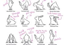 yoga splits bunnies
