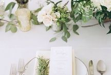 Mise En Place Wedding White