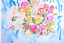 Floral art / floral art featured at gallery andrea by Andrea de Kerpely-Zak and Andrea Zakrzewski