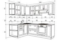 Кухни-чертежи